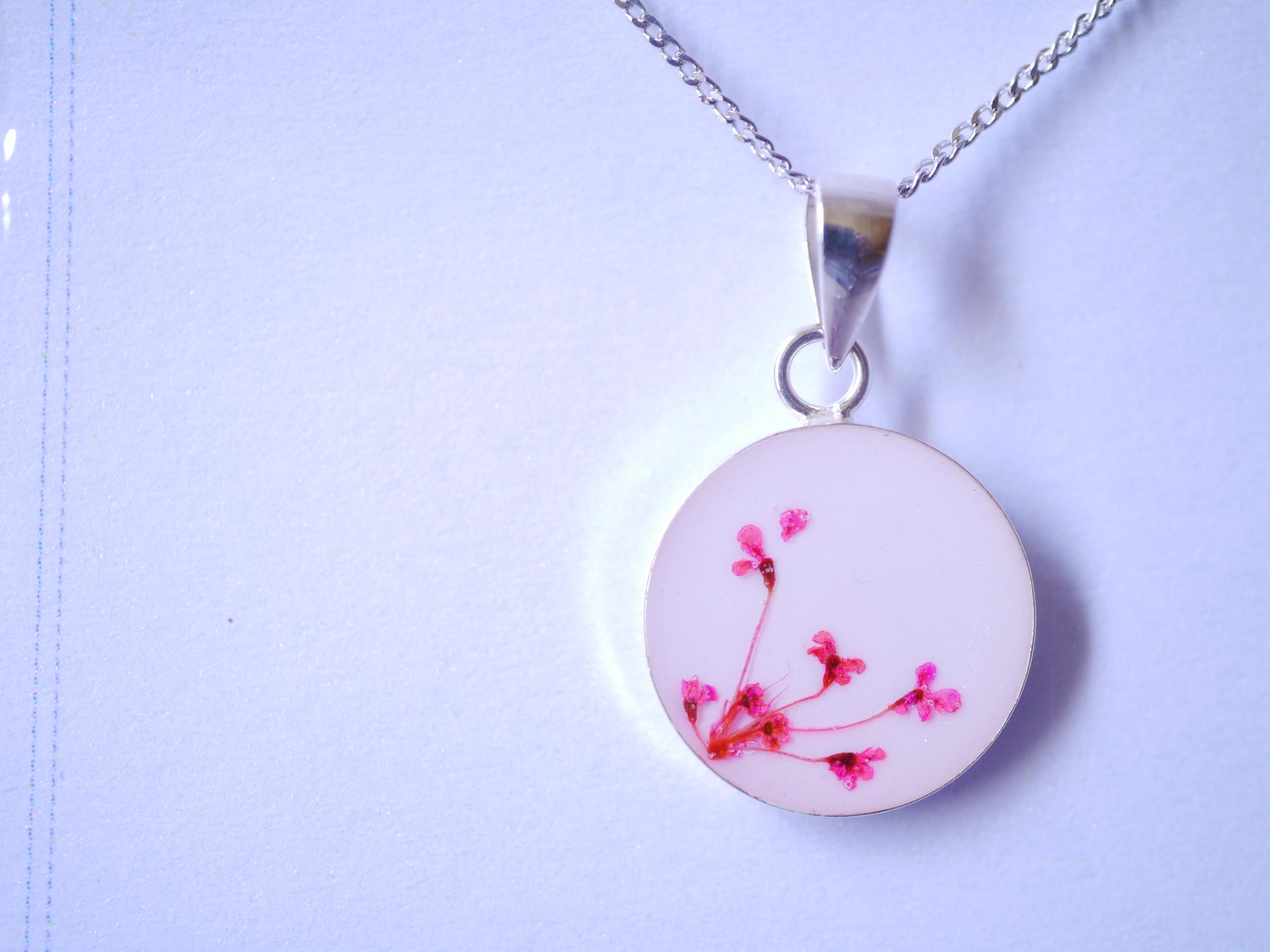 ネックレス 花