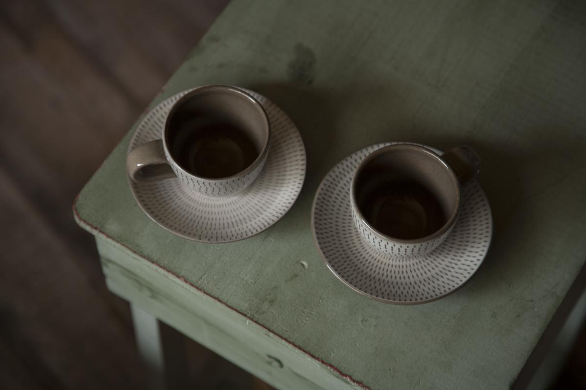 コーヒーカップ 小石原焼