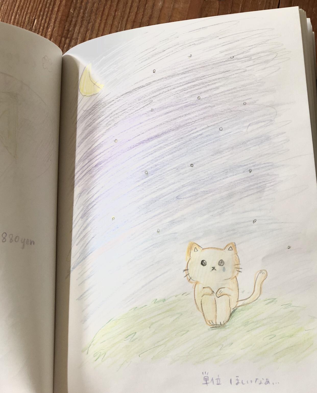 ノート 子猫