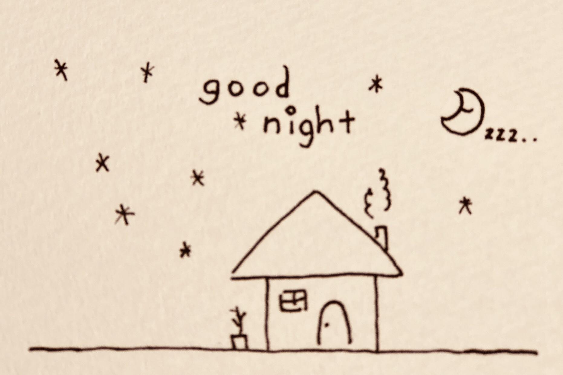 イラスト お休み